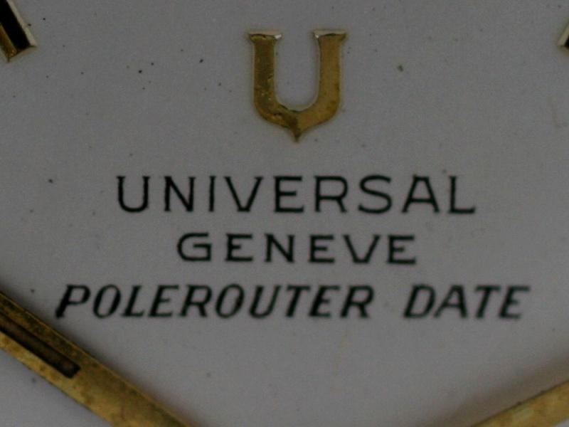(Vendue) Universal Geneve Pole RouterRéf : Ug Pr Date Img_0916