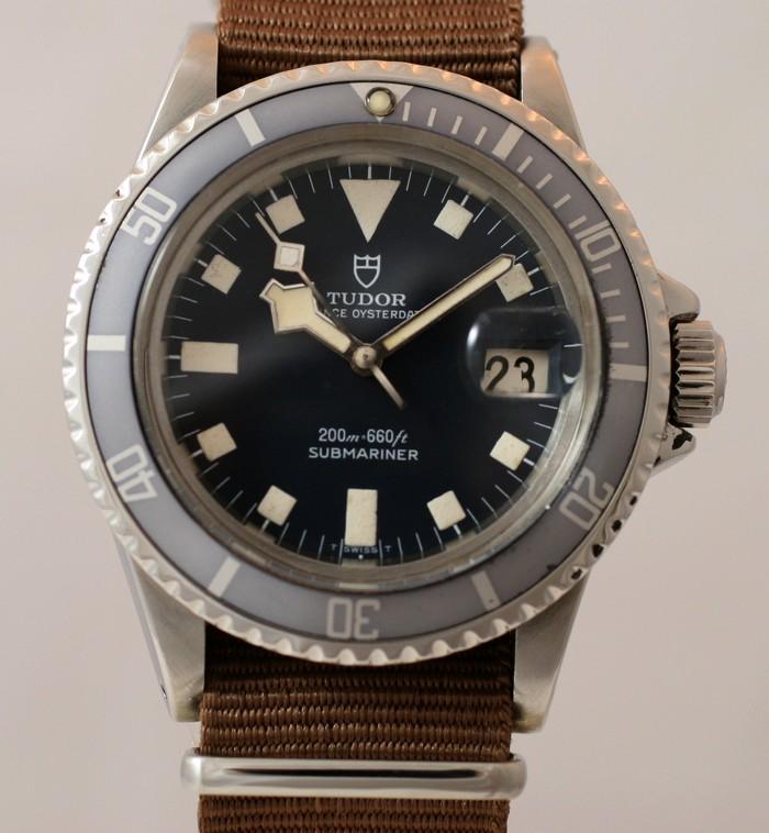 (Vendue) Tudor SubmarinerRéf : 9411 Img_1122