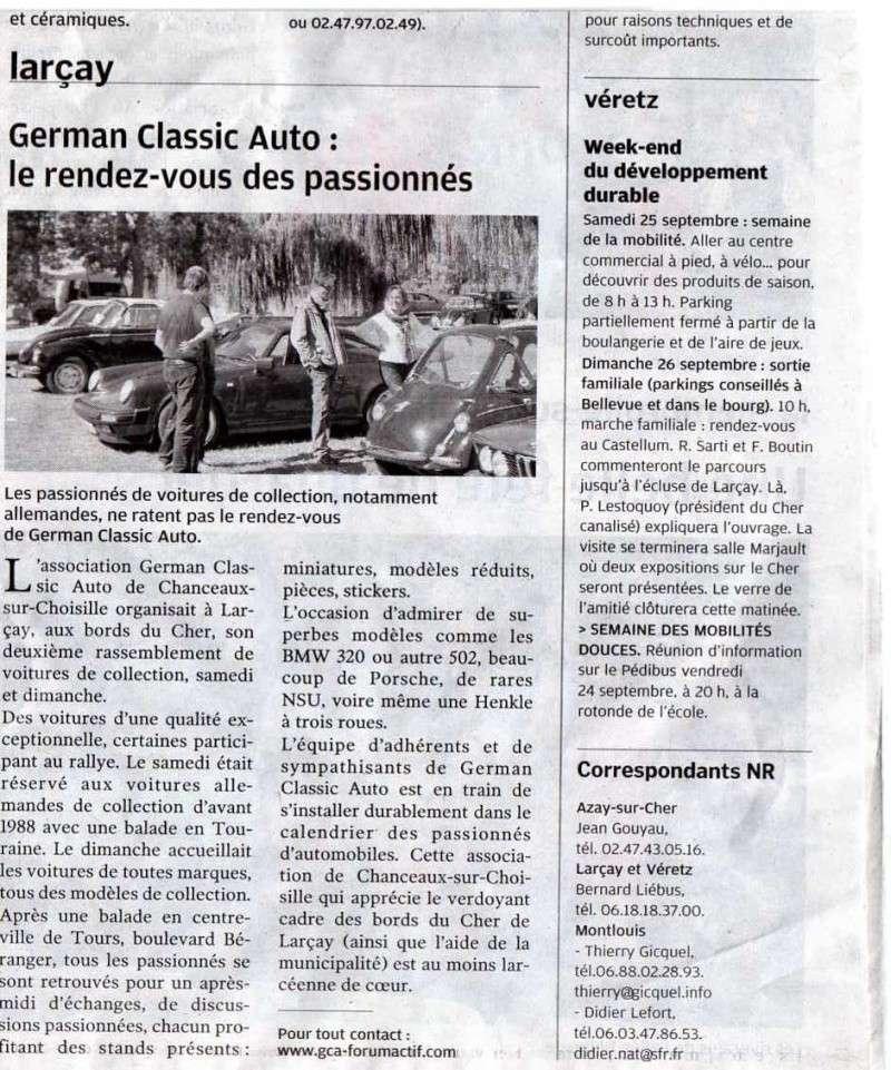 2 eme German Classic AUTO  à Larçay (37) Img08910