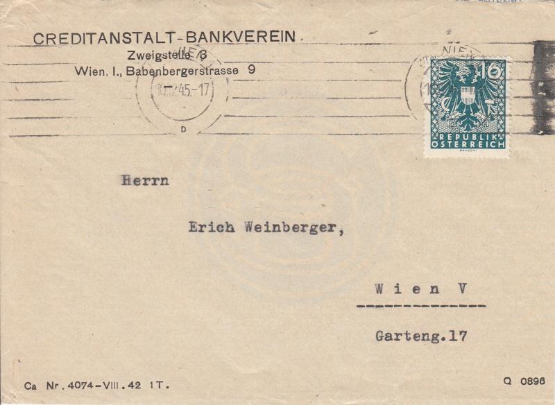 Wappenzeichnung  -  ANK 714-736 - Belege - Seite 2 Img28