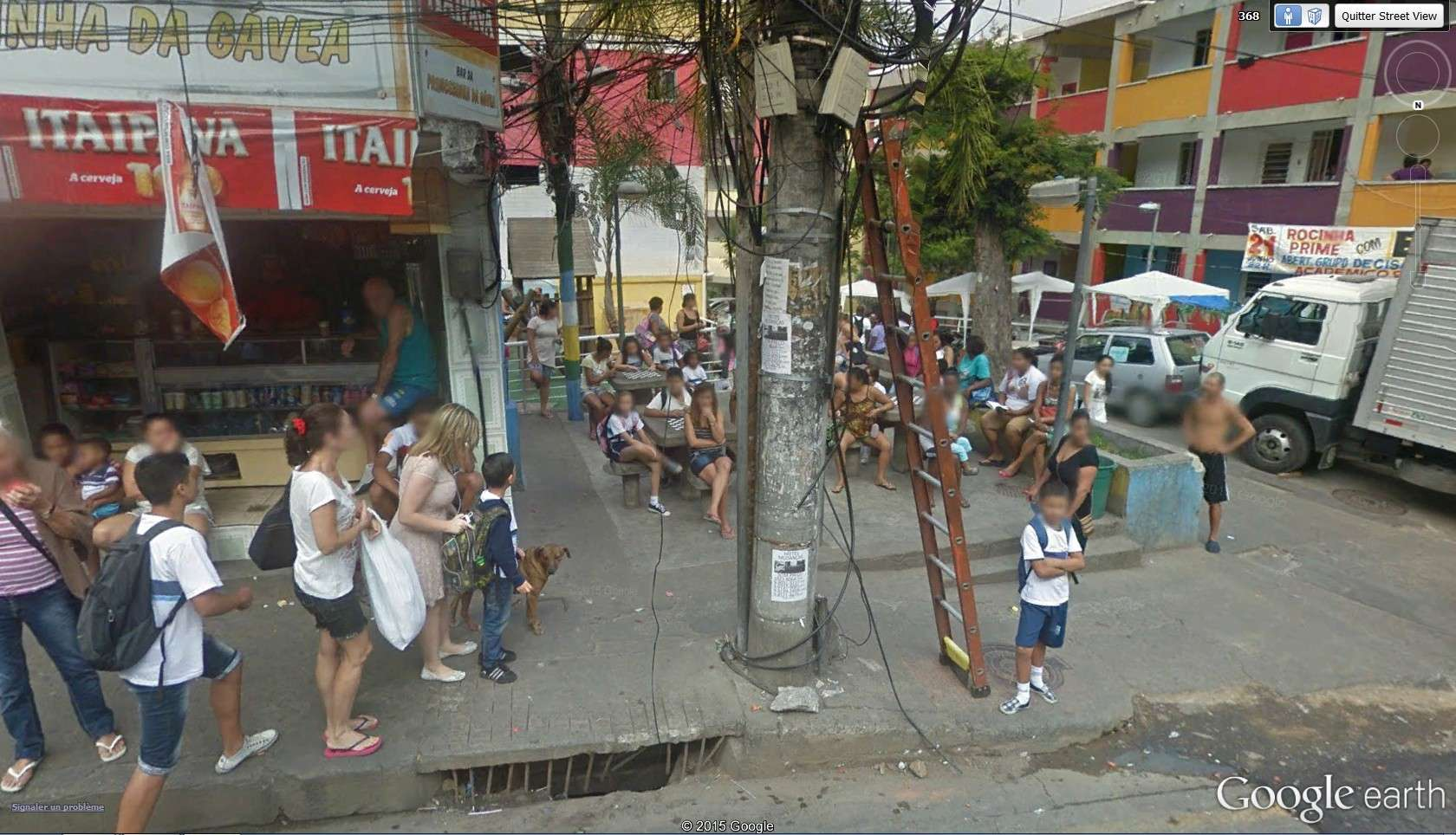 Comment remédier à la surpopulation - Rio de Janeiro - Brésil 2015-016