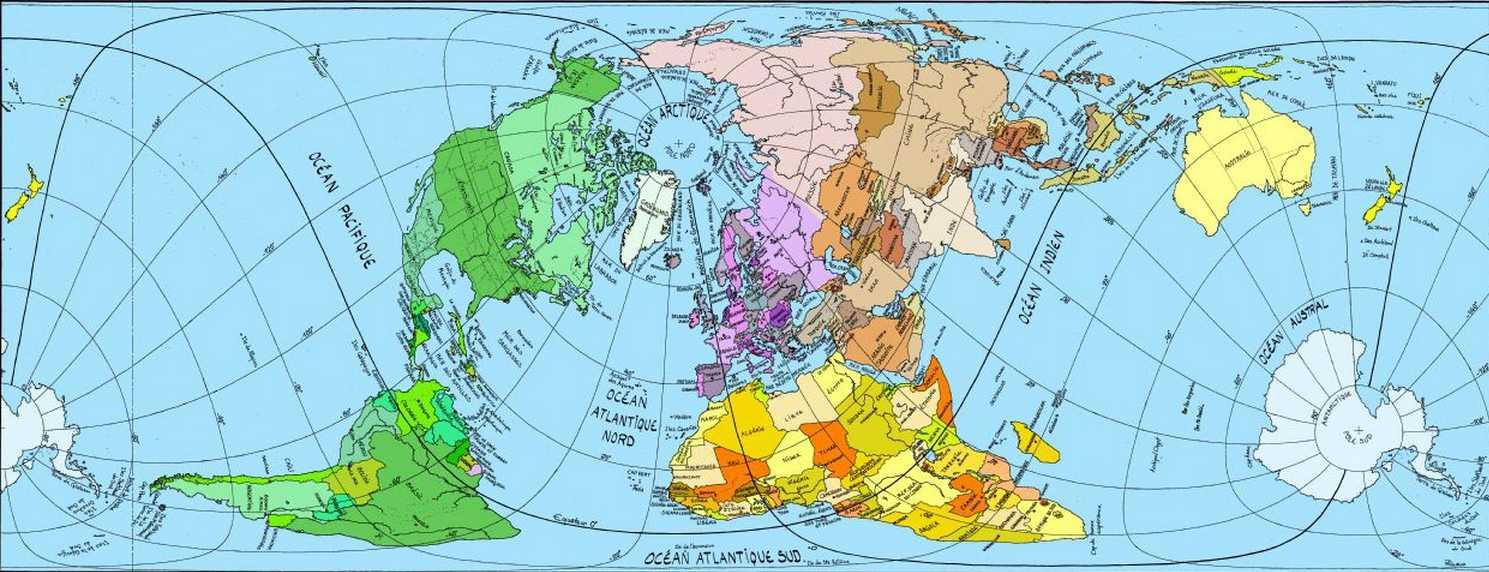 la majorité des cartes du monde sont fausses ( débat) 2015-026