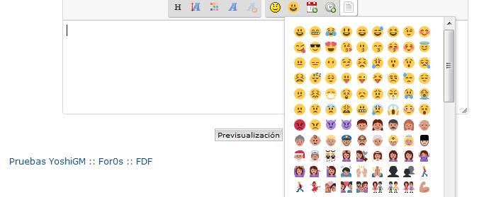 Añadir los Emojis de Twitter al Editor Emojis10
