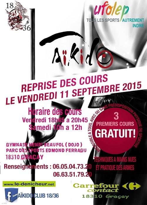 2015/2016 - GRACAY - Cours d'Aïkido _* 00511