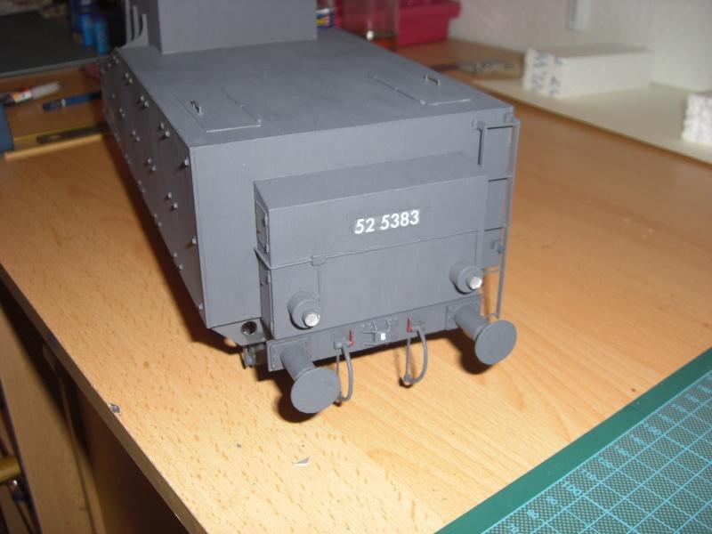 Fertig - Lok BR 52 von Modelik 1:25 gebaut von Lothar 02710