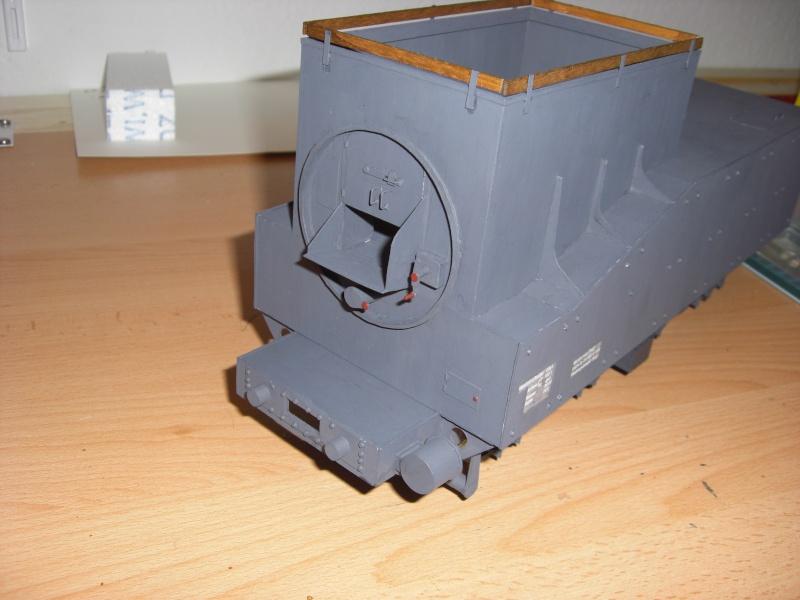 Fertig - Lok BR 52 von Modelik 1:25 gebaut von Lothar 02810