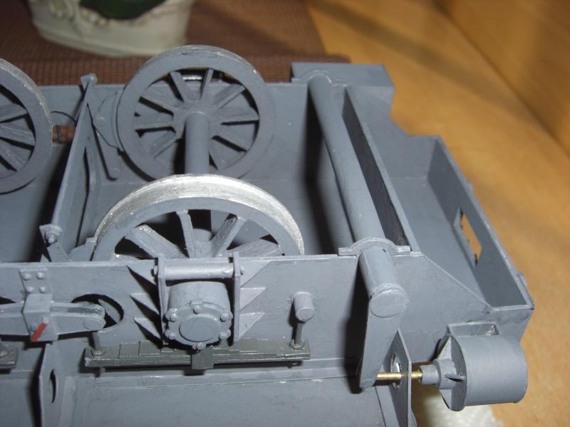 Fertig - Lok BR 52 von Modelik 1:25 gebaut von Lothar 23510