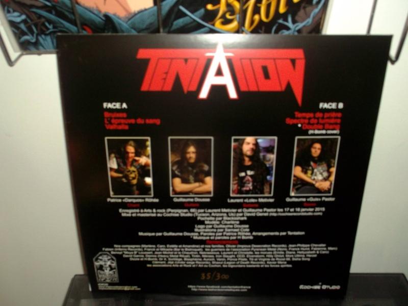 TENTATION 1er album (2015) Heavy Metal  Tentat11