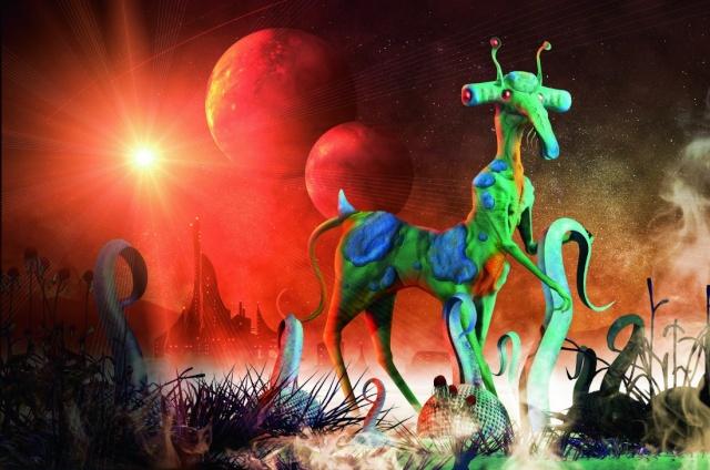 Excellent  article de Sciences et Avenir du 1er octobre  - A quoi ressemble la vie extraterrestre ? Peut-être à ça ! 14420411