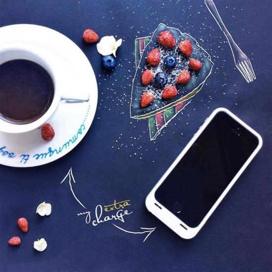 Chùm tranh sáng tạo độc đáo từ ly cafe sáng  Cafe1-10