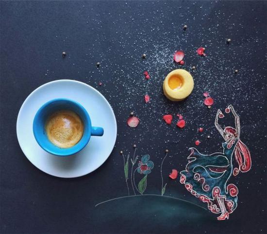 Chùm tranh sáng tạo độc đáo từ ly cafe sáng  Cafe3-10