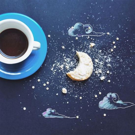 Chùm tranh sáng tạo độc đáo từ ly cafe sáng  Cafe4-10