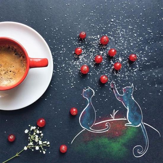 Chùm tranh sáng tạo độc đáo từ ly cafe sáng  Cafe5-10