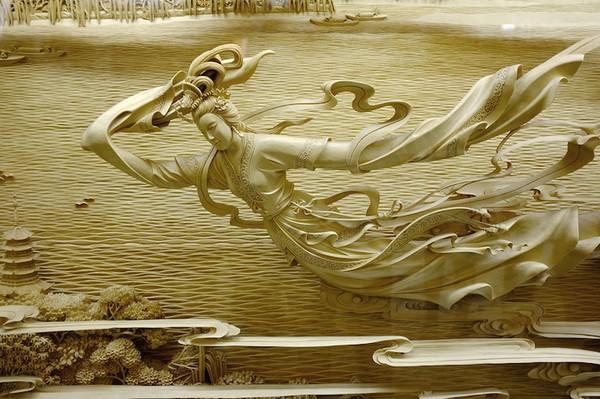 Nghệ thuật điêu khắc đỉnh cao thổi hồn vào từng thớ gỗ Wood1-10