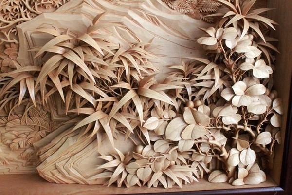 Nghệ thuật điêu khắc đỉnh cao thổi hồn vào từng thớ gỗ Wood1410