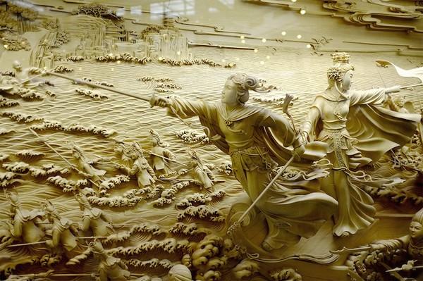Nghệ thuật điêu khắc đỉnh cao thổi hồn vào từng thớ gỗ Wood2-10