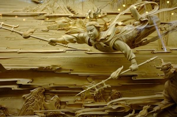 Nghệ thuật điêu khắc đỉnh cao thổi hồn vào từng thớ gỗ Wood4-10
