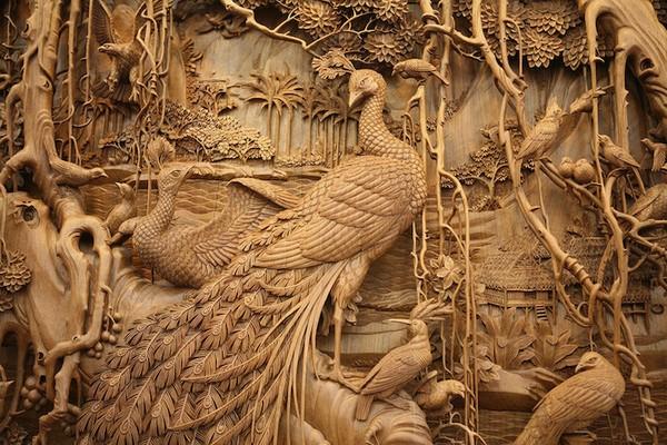 Nghệ thuật điêu khắc đỉnh cao thổi hồn vào từng thớ gỗ Wood5-10