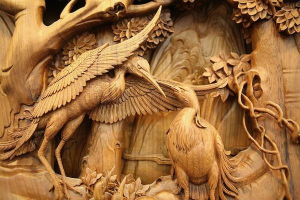 Nghệ thuật điêu khắc đỉnh cao thổi hồn vào từng thớ gỗ Wood8-10