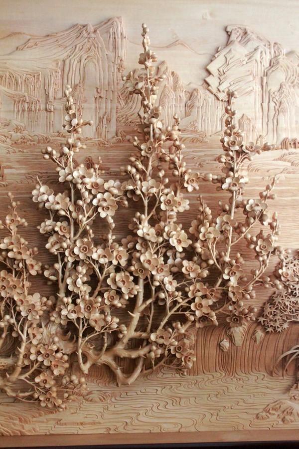 Nghệ thuật điêu khắc đỉnh cao thổi hồn vào từng thớ gỗ Wood9-10
