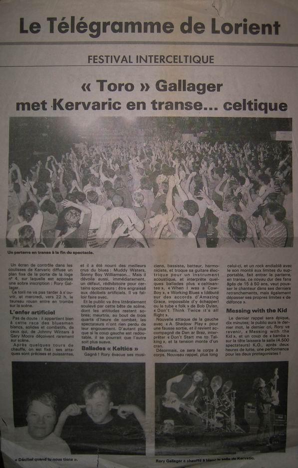 Festival Interceltique de Lorient, 09 août 1994 [Bootleg] 110