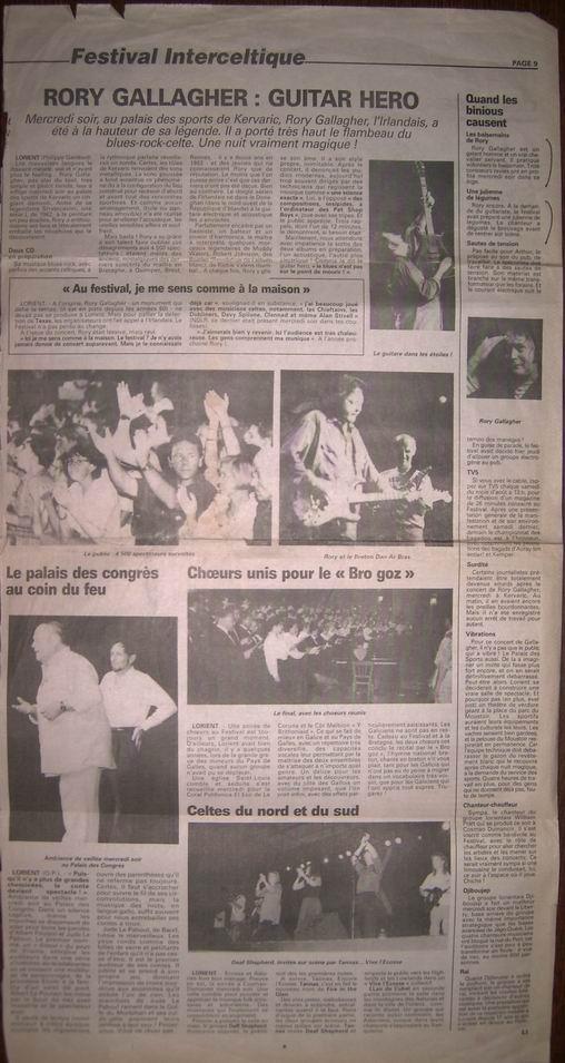 Festival Interceltique de Lorient, 09 août 1994 [Bootleg] 310