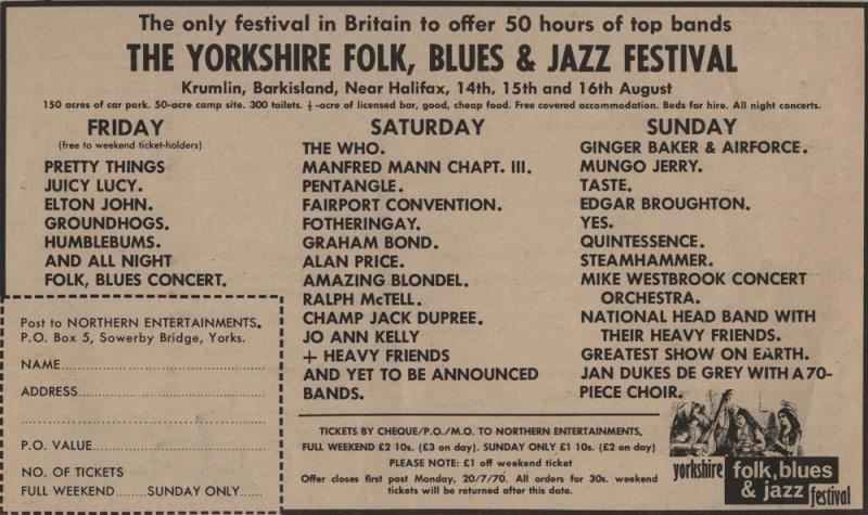 Taste Mk 2 (1968-1970) - Page 7 Advert12