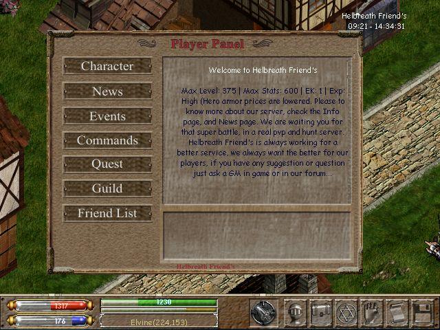 Player Panel Helsho11
