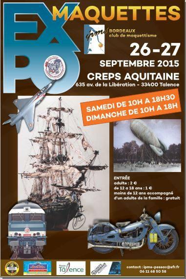 EXPO à TALENCE (Gironde) les 26 et 27 septembre 2015 374_2010