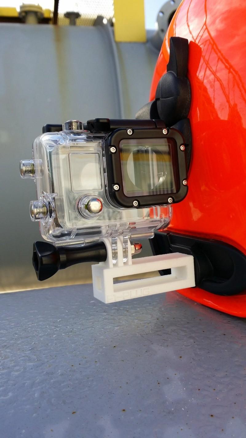 Montage sur 1 casque de sapeur pompier (type F1) Gopro_10