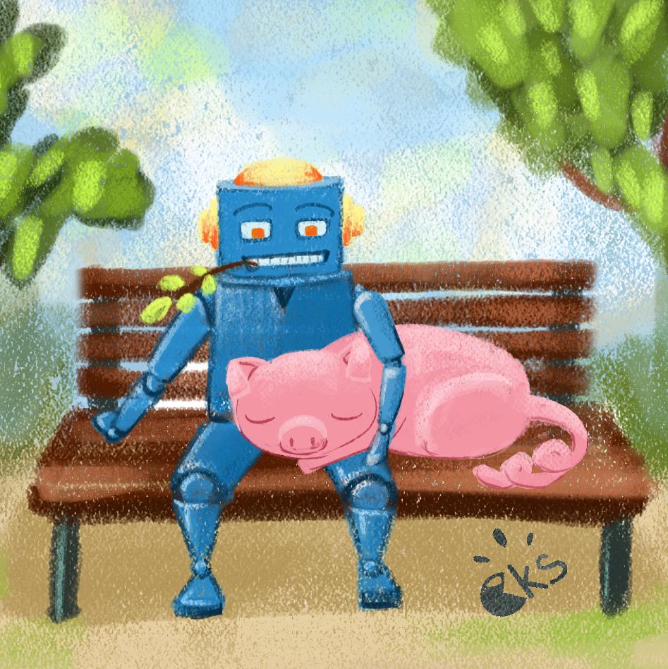 Wip et studies [challenge de l'été  P 1] -ckoms- - Page 2 Robotc10