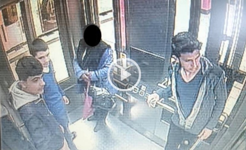 U-Bahn-Gangster in Berlin rauben Mutter mit Kinderwagen aus Trio10