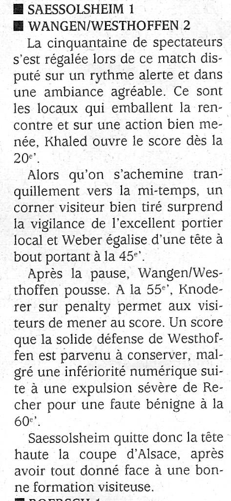 L e FC Wangen Westhoffen Numari12