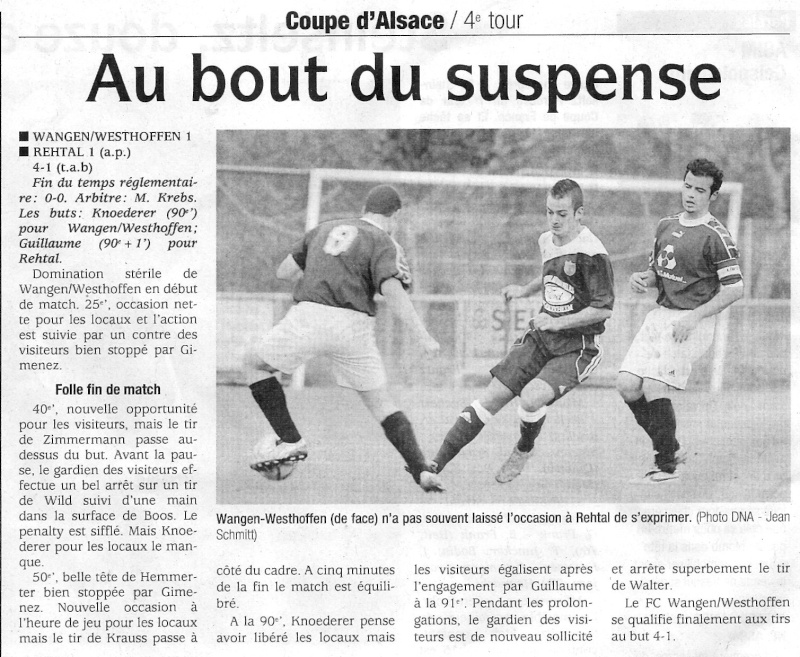L e FC Wangen Westhoffen Numari17