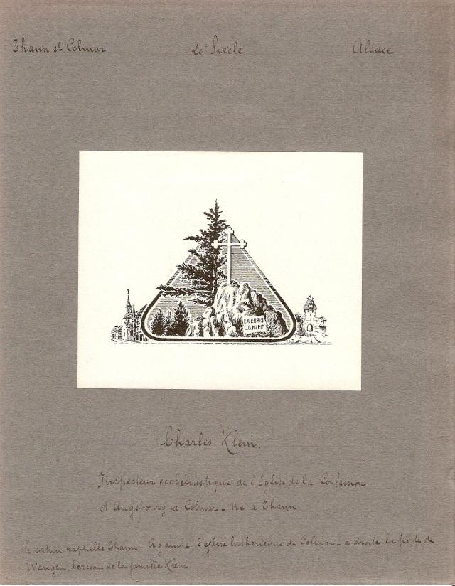 Ex Libris ayant un lien avec WANGEN Numari19