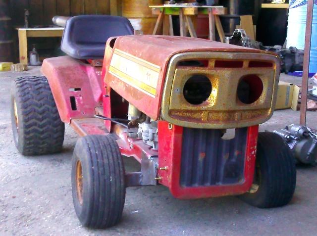 power mower Face12