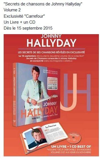 [livre +cd] Exclu carrefour le 09 juin 2015..Johnny le secret de ses chansons.. Captu150