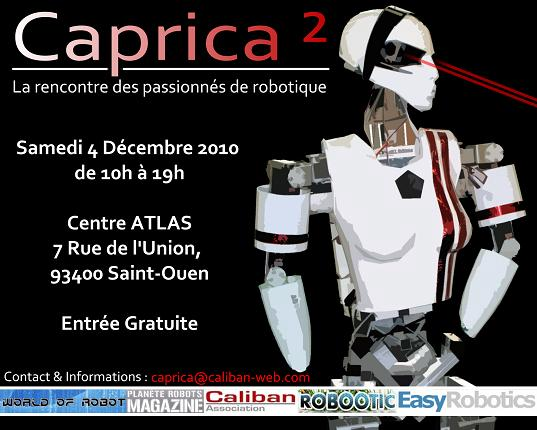 Caprica 2 : Evènement Robotique sur Paris Capric10