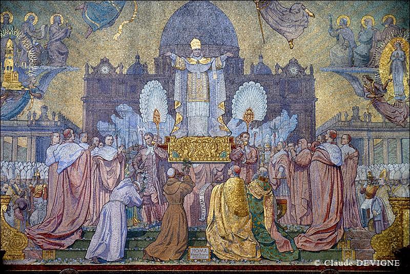 Mosaïques en la Basilique de Fourvière. Basili10