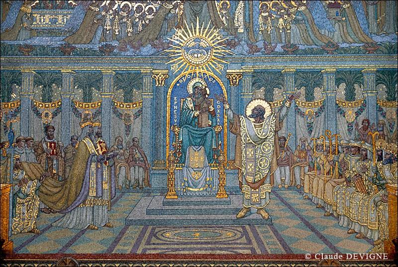 Mosaïques en la Basilique de Fourvière. Fourvi10