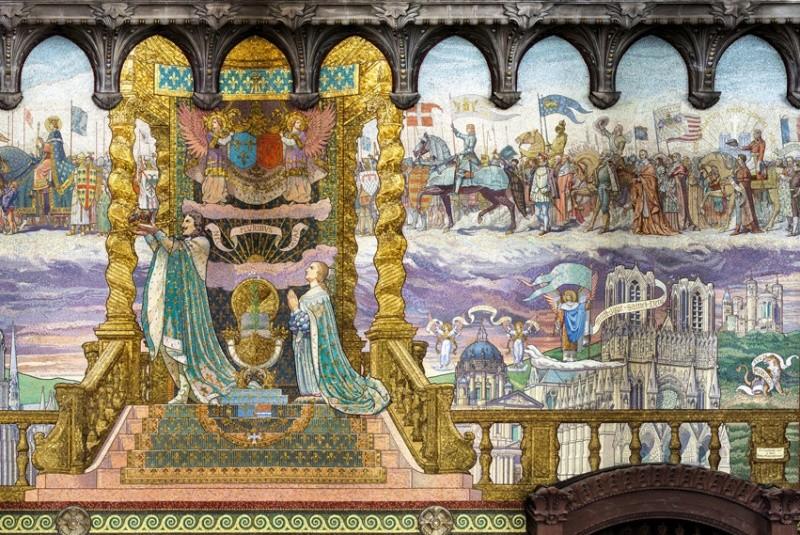 Mosaïques en la Basilique de Fourvière. Fourvi12