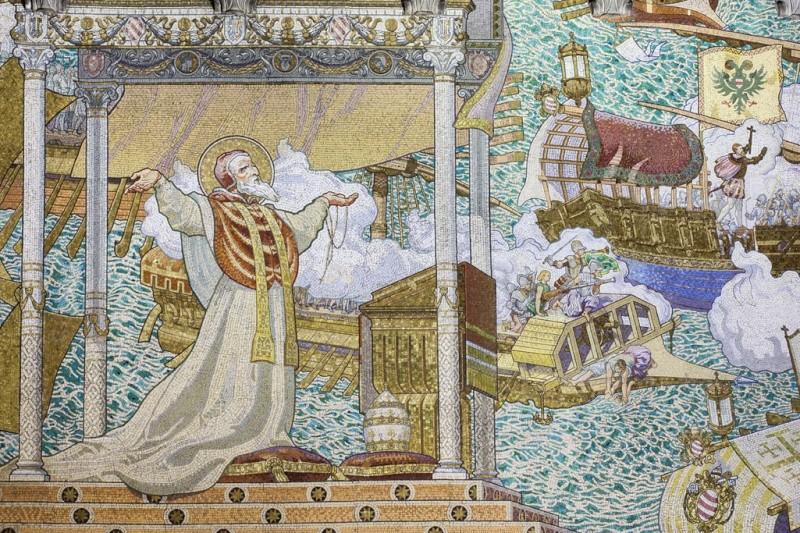 Mosaïques en la Basilique de Fourvière. Mg_59810