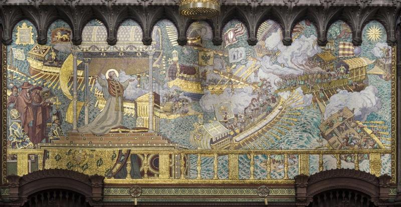 Mosaïques en la Basilique de Fourvière. Mg_74410