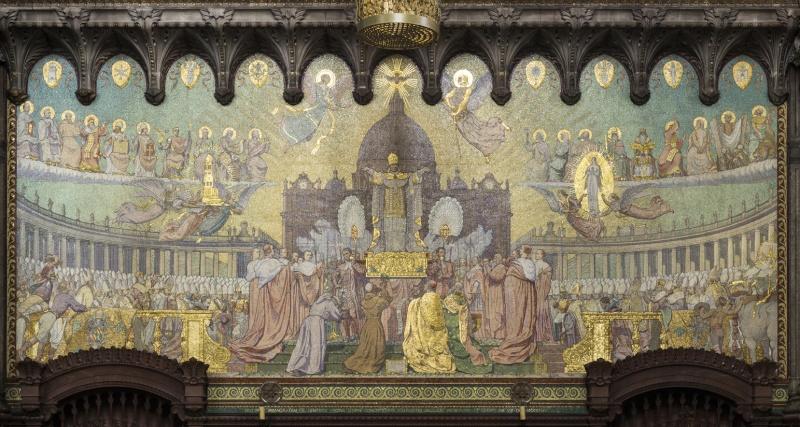 Mosaïques en la Basilique de Fourvière. Mg_74411
