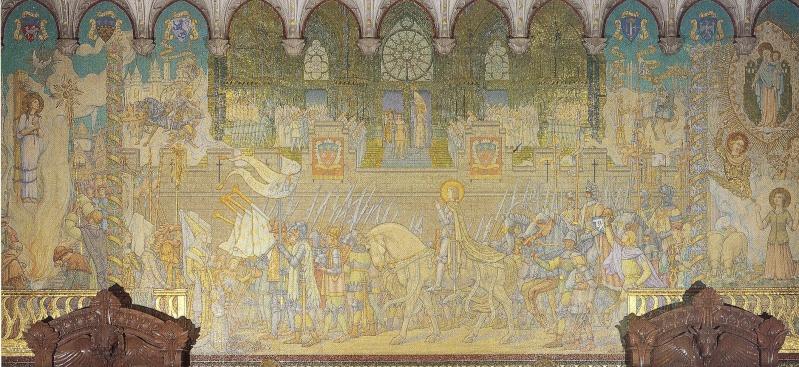 Mosaïques en la Basilique de Fourvière. Mosayq11
