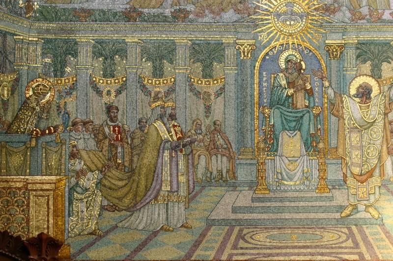 Mosaïques en la Basilique de Fourvière. Mosayq12