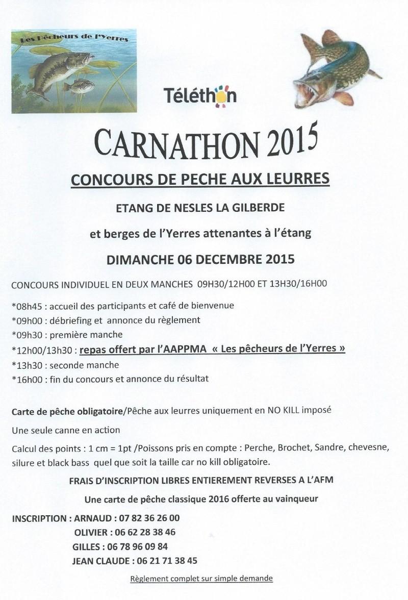 Premier Carnathon des Pêcheurs de l'Yerres  Carnat13