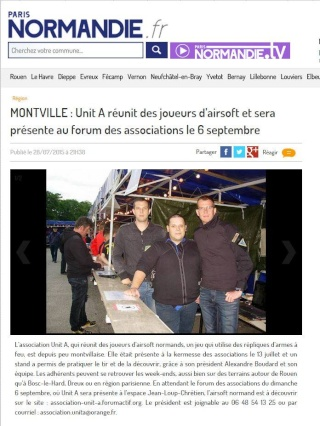 Débriefing de la kermesse des associons du 13/07/2015 à Montville Kam111
