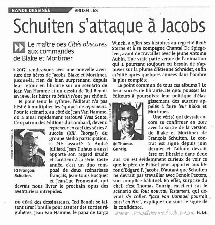 Pleins feux sur Edgar Pierre JACOBS et Blake et Mortimer (2ème partie en cours) - Page 18 Schuit10