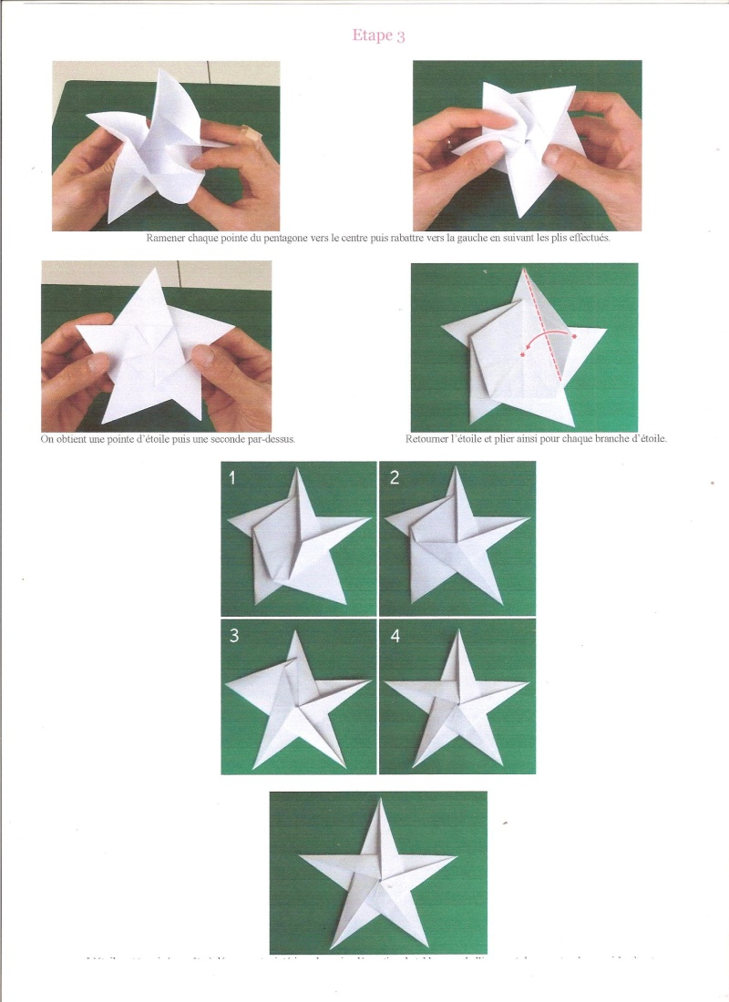 23 novembre : des étoiles ORIGAMI ... Ytoile11